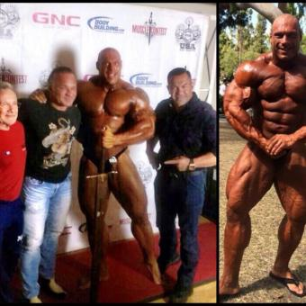 Morgan Aste The Big Rock Bodybuilding rules magazine