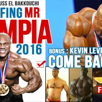 debriefing Mr olympia 2016 avec Mouss Elbakkouchi et Eric Rallo