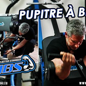 démonstration pupitre à biceps HBS TRAINING (Home Gym)