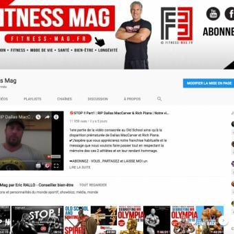 abonne toi  au youtube FITNESS MAG