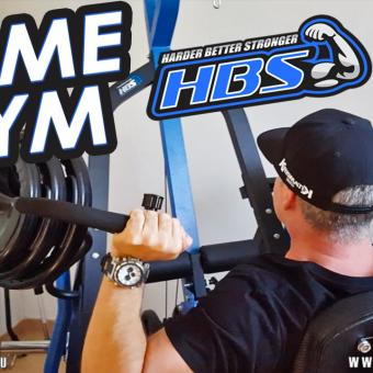 Home Gym Eric Rallo avec HBS TRAINING