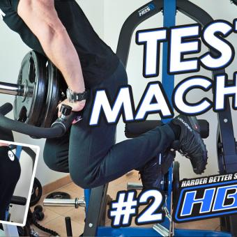 TEST machine HBS TRAINING home Gym