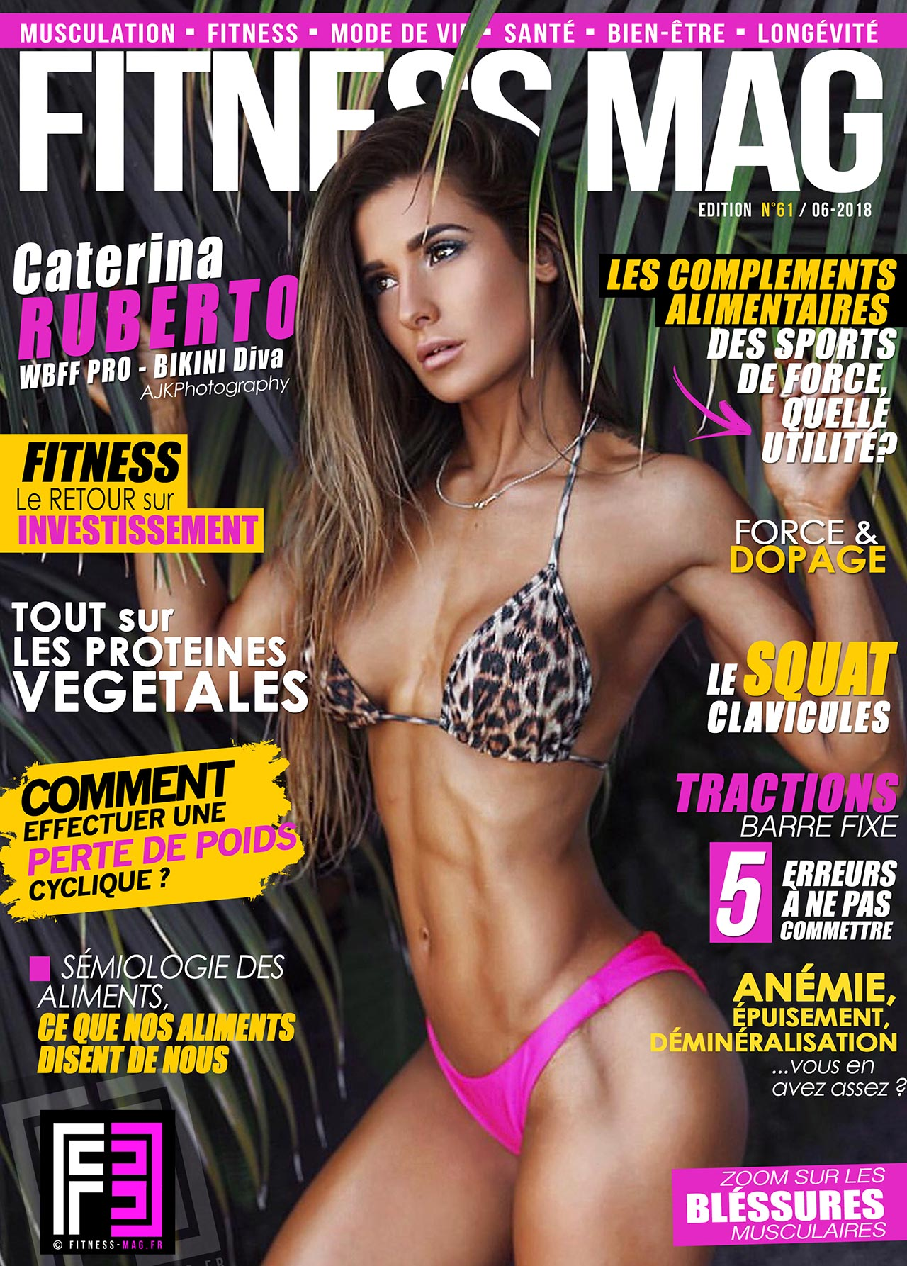 561962a5557 Sommaire. Couverture  Couverture Fitness Mag ...